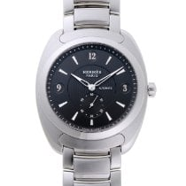 Hermès Dressage Steel 41mm Silver