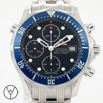 Omega Seamaster Diver 300 M Acier 41.5mm Bleu