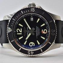 Breitling Superocean II 42 Acero 42mm Negro Arábigos
