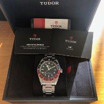 Tudor Black Bay GMT Acier 41mm Noir Sans chiffres