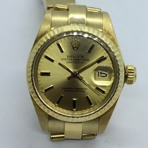 Rolex 6916 Or jaune 1980 Oyster Perpetual Lady Date 26mm occasion