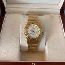 Omega Constellation new 2002 Quartz Watch with original box and original papers 1112.30.00
