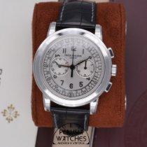 Patek Philippe Chronograph Oro bianco 42mm Argento Arabi Italia, Perugia
