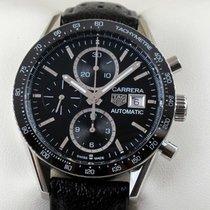 TAG Heuer Carrera Calibre 16 new 2019 Automatic Chronograph Watch with original box and original papers CV201AJ.FC6357