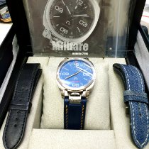 Anonimo Militare Steel 43.4mm Blue Arabic numerals