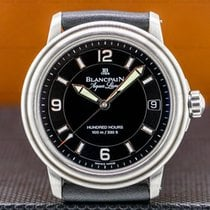 Blancpain Steel 38mm Automatic 2100-1130A-71 pre-owned United States of America, Massachusetts, Boston