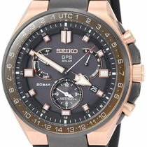 Seiko Astron GPS Solar Chronograph new Watch with original box and original papers SSE170J1