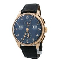 IWC Portuguese Perpetual Calendar Digital Date-Month 45mm Blue United States of America, New York, New York