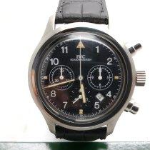 IWC Pilot Chronograph Acciaio 36mm Nero Arabi Italia, Castellanza (VA)