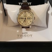 Tissot Le Locle occasion 42mm Champagne Chronographe Date Cuir