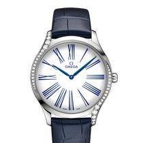 Omega De Ville Trésor new 2021 Quartz Watch with original box and original papers 428.18.39.60.04.001