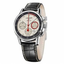 Longines Column-Wheel Chronograph Steel 41mm No numerals
