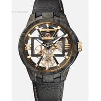 Ulysse Nardin Carbon Manual winding Transparent Roman numerals 43mm new Executive