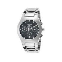 Longines Oposition Titanium 38mm Black No numerals