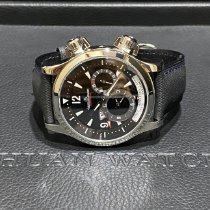 Jaeger-LeCoultre Master Compressor Geographic Steel 41mm Black Arabic numerals