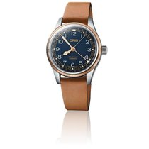 Oris Big Crown Pointer Date Acier 36mm Bleu Arabes France, Paris 1er