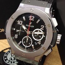 Hublot Big Bang 44 mm Сталь 44mm Черный Aрабские