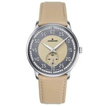 Junghans Meister Driver 027/3608.00 New Steel 38mm Manual winding