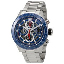 TAG Heuer Carrera Calibre HEUER 01 Steel 43mm Blue No numerals United States of America, Pennsylvania, Philadelphia