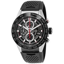 TAG Heuer Carrera Calibre HEUER 01 Steel 45mm Black No numerals United States of America, Pennsylvania, Philadelphia
