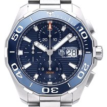 TAG Heuer Aquaracer 300M Steel 43mm Blue No numerals United States of America, Pennsylvania, Philadelphia