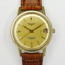 Longines Conquest Steel Gold