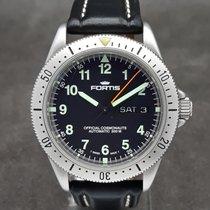 Fortis B-42 Official Cosmonauts Steel 39mm Black Arabic numerals