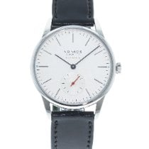 NOMOS pre-owned Automatic 36mm White Sapphire crystal Not water resistant
