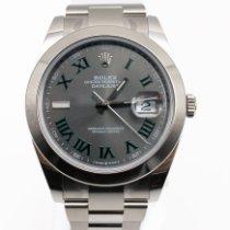 Rolex Datejust Steel 41mm Grey Roman numerals United Kingdom, SW3 1NX