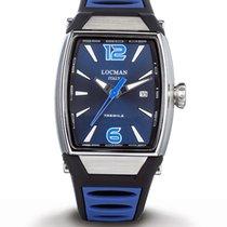 Locman Tremila Steel Blue Arabic numerals