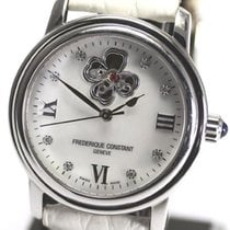 Frederique Constant Ladies Automatic Heart Beat Acier 35mm Nacre