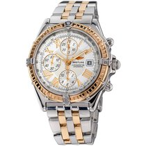 Breitling Crosswind Racing Gold/Steel 42mm Silver Roman numerals United States of America, New York, Greenvale