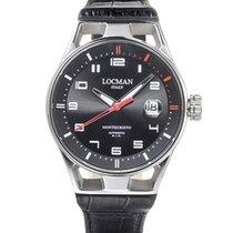 Locman Montecristo Steel Black