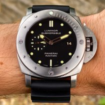 Panerai Luminor Submersible 1950 3 Days Automatic Titanium 47mm Black No numerals United States of America, Wisconsin, Jefferson