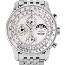Breitling Montbrillant Olympus Steel 43mm Silver No numerals United States of America, New York, Greenvale