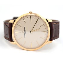 Vacheron Constantin Patrimony Yellow gold 40mm Silver No numerals United States of America, Florida, Aventura