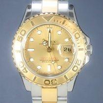 Rolex Yacht-Master Gold/Steel 29mm Gold No numerals