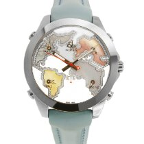 Jacob & Co. Five Time Zone Steel 47mm Mother of pearl United States of America, New York, New York