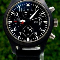 IWC IW378901 Keramiek 2008 Pilot Chronograph Top Gun 44mm tweedehands