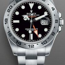 Rolex Explorer II Acero 42mm Negro Sin cifras