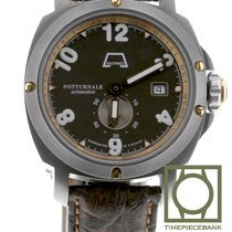 Anonimo Cronoscopio pre-owned 43.4mm Brown Date Year Calf skin