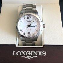 Longines Conquest Steel 43mm Silver United States of America, California, Santa Monica