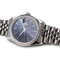 Rolex Datejust Acier 36mm Bleu France, Paris