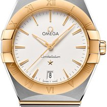 Omega Constellation Золото/Cталь 28mm Cеребро