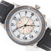 Longines Lindbergh Hour Angle Steel 38mm Silver