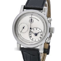 Benzinger pre-owned Automatic 42mm Silver Sapphire crystal