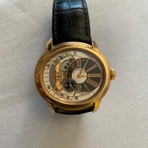 Audemars Piguet Millenary 4101 Roségold 47mm Transparent Römisch