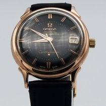 Omega Oro rosa Automático Negro Sin cifras 34mm usados Constellation