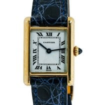 Cartier Tank Louis Cartier Yellow gold 21mm White Roman numerals United States of America, New York, New York