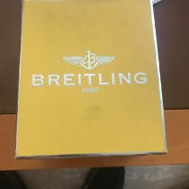 Breitling Montbrillant Olympus Steel 42mm Silver Arabic numerals